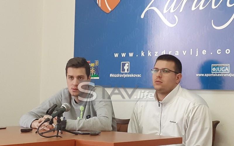 """KK """"ZDRAVLJE"""" DOČEKUJE SUTRA """"PROLETER"""" IZ ZRENJANINA"""