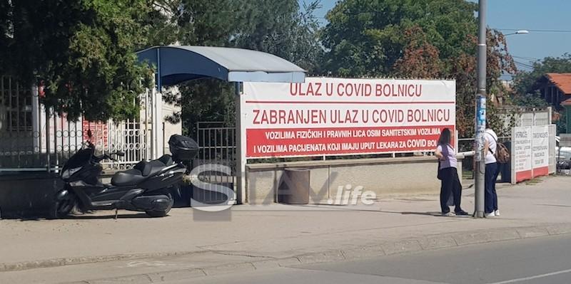 U Kovid bolnici u Leskovcu preminuo pacijent iz Turekovca
