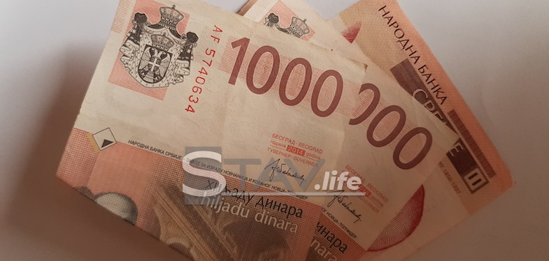 PENZIONERIMA SE SUTRA UPLAĆUJE PO 5.000 DINARA