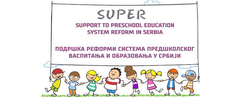 """Završen projekat """"Super""""  kao podrška reformi predškolskog obrazovanja"""